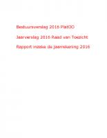 Jaarrekening 2016 PlatOO
