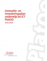 Innovatie- en investeringsplan onderwijs en ICT