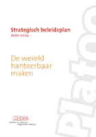 PlatOO beleidsplan 2020-2024